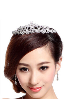 Harga Bluelans(R) Butterfly Tiara Rhinestone Crown Headband