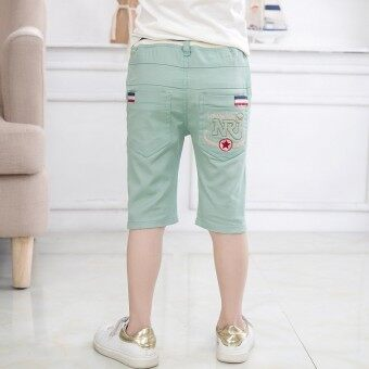 Harga Boy's children's pant shorts (Light Green) (Light Green)