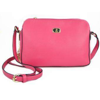 Harga British Polo Colourful Women & Ladies Sling Bag (Pink)
