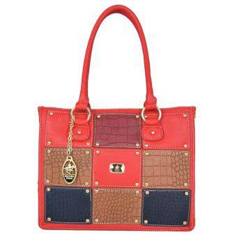 Harga British Polo Hot Sale Classic Eliza handbag Red
