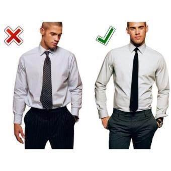 Camouflage Male inverted garter belt Shirt Stays Elastic Garter - 2