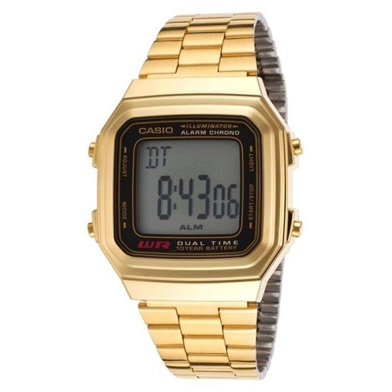 Casio A178WGA-1ADF Watch Gold Stainless Steel Malaysia