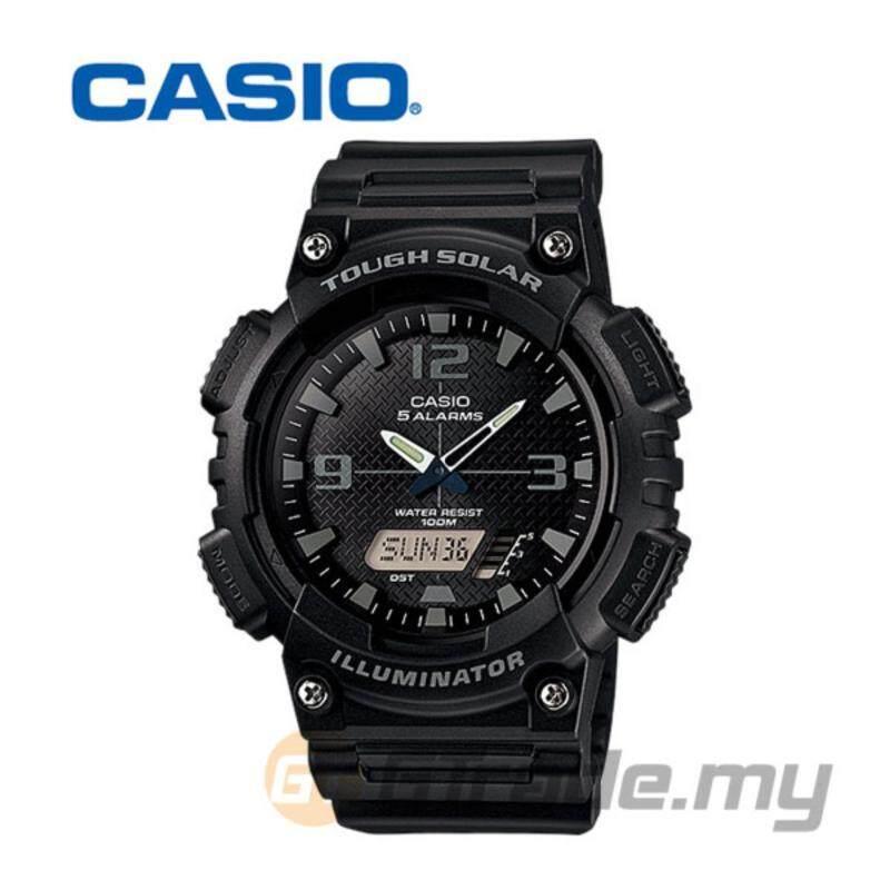 Casio AQ-S810W-1A2V Standard Analog Digital Watch - Solar World T Malaysia