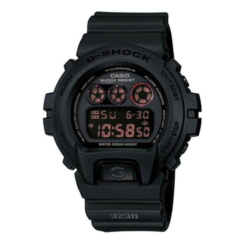 Casio G-Shock Mens Black Resin Strap Watch DW-6900MS-1 Malaysia