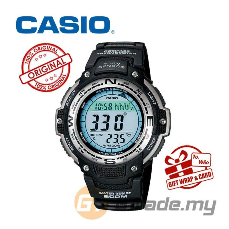 CASIO OUTGEAR SGW-100-1V Sport Gear Watch Malaysia