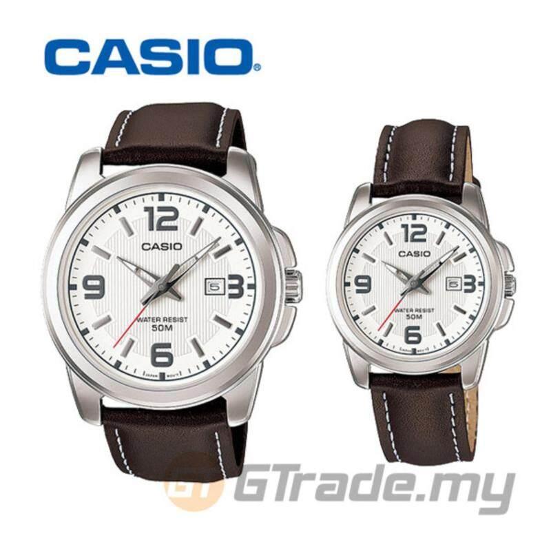 CASIO STANDARD MTP-1314L-7AV & LTP-1314L-7AV Analog Couple Watch Malaysia