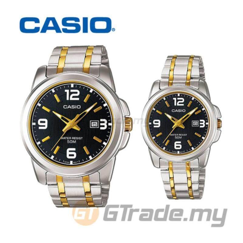 CASIO STANDARD MTP-1314SG-1AV & LTP-1314SG-1AV Analog Couple Watch Malaysia