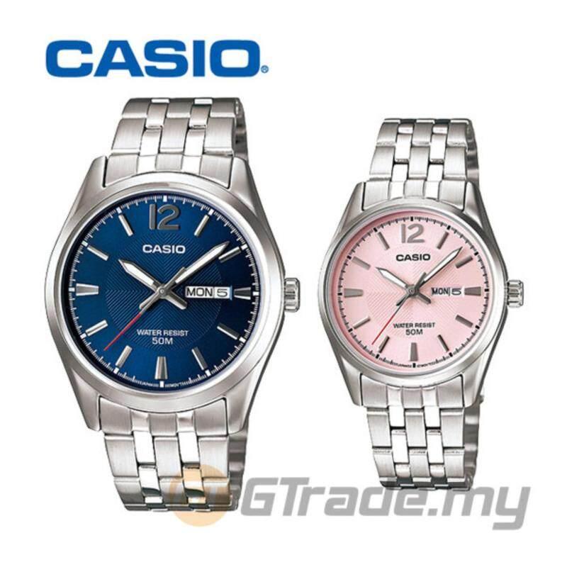CASIO STANDARD MTP-1335D-2AV & LTP-1335D-5AV Analog Couple Watch Malaysia