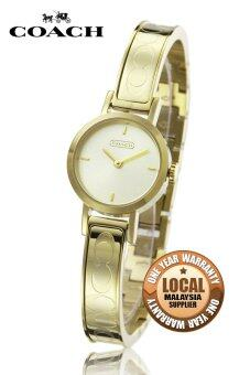 Coach 14501439 Stainless Steel Strap Watch (Gold)