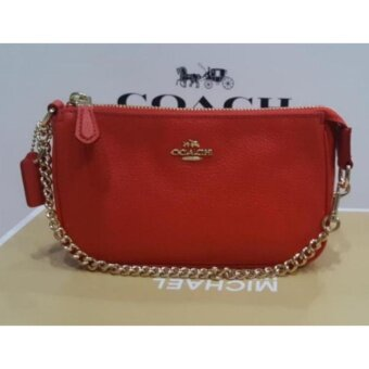 Coach Large Wristlet - Red