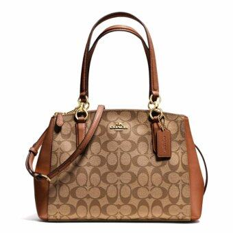 Coach Small Christie Carryall In Signature