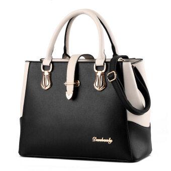 COMO Premium European Style Elegant Tote Bag- Black