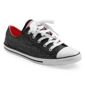 converse all star black. converse all star dainty ox sneakers black