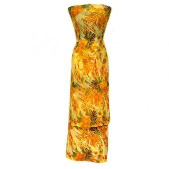 Cotton & Silk Fabric Kain Ela Meter Baju Kurung Chiffon Matching Valentino Crepe 502d
