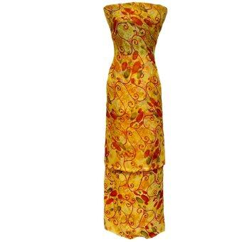 Cotton & Silk Fabric Kain Ela Meter Baju Kurung Chiffon Matching Valentino Crepe 505e
