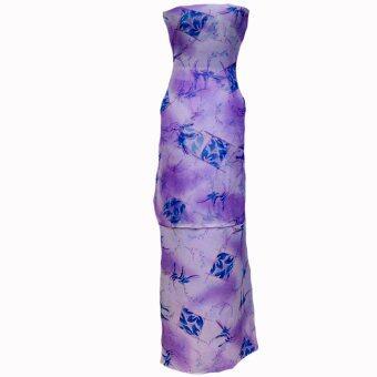 Cotton & Silk Fabric Kain Ela Meter Baju Kurung Chiffon Matching Valentino Crepe 509e