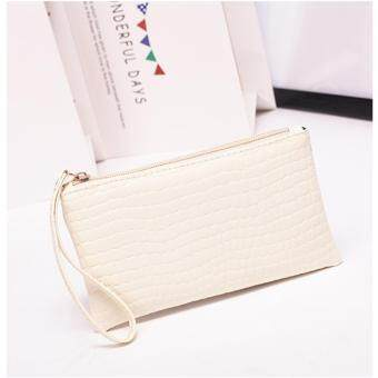Crocodile Colorful Lady Lovely Purse Clutch Coin Purse WomenWallets Small Bag PU Leather Card Hold Clutch