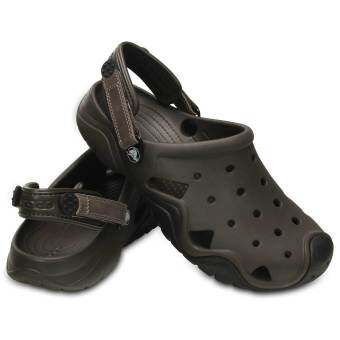 Crocs Men's Swiftwater Clog (Espresso/Black)