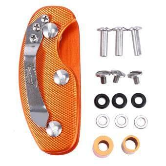 EDC gear key keychain holder folder clamp pocket multi toolorganizer collector smart clip kit bar gadget outdoor camp - 3