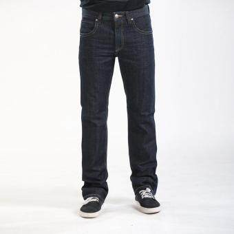 Edwin Blue Trip Sliver Button White Lining Men Jeans (Black)