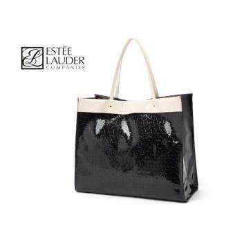 Harga Estee Lauder Patent Leather Large Shoulder Tote Bag Handbag
