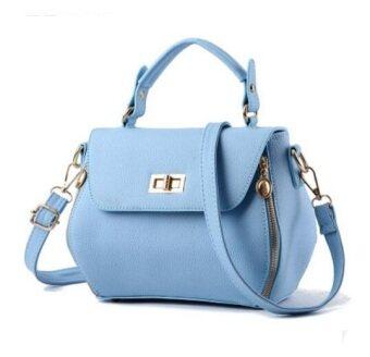 European Fashion Ladies Casual Shoulder Messenger Bag | Tote Bag |Backpack | Set Bag Collection - Aqua