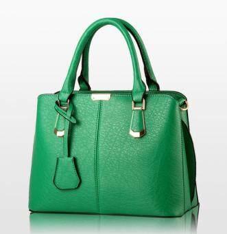 European Fashion Ladies Casual Shoulder Messenger Bag | Tote Bag |Backpack | Set Bag Collection - Green