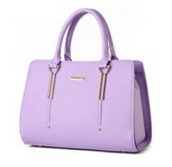 European Fashion Ladies Casual Shoulder Messenger Bag | Tote Bag |Backpack | Set Bag Collection - Violet