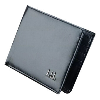 Harga Fang Fang Men Business Leather Wallet (Black)