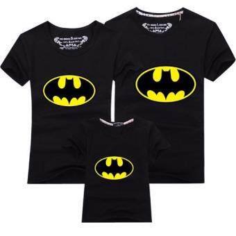 Harga Father Mother Daughter Son T-Shirt Outfit Family MatchingClothes(Kids Batman)