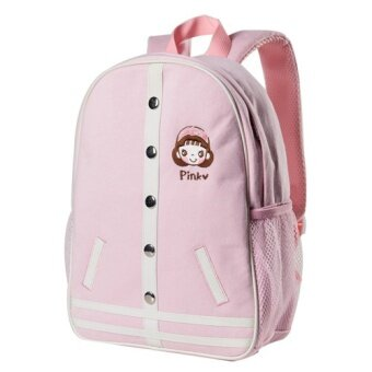 Harga Female Male and female students of camouflage leopard shoulderbackpack (Lolita pink)