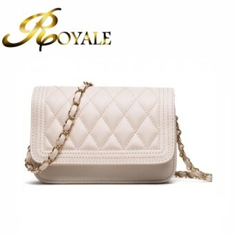 GTE ROYALE Premium Pu Leather Shoulder Bag (White)