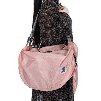 Guapabien Foldable Multiple Carry Ways Light Portable Travel Storage Bag (Papaya) - 4