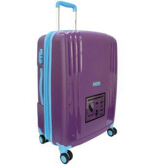 Handry 20 inch Anti-Break PP Hard Case Trolley (Purple Blue) - 2
