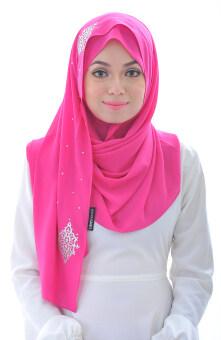 Hijab Fesyen Chenta Instant Shawl Hotpink