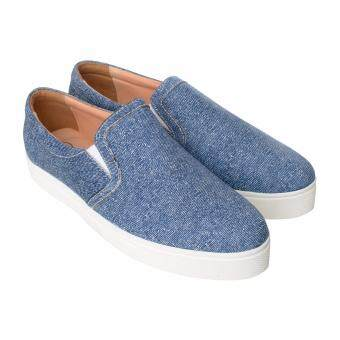 Harga HUSH PUPPIES DENIM SLIP-ONS DENIM