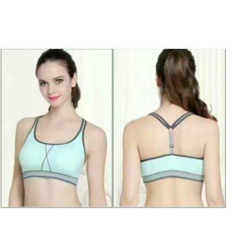 Harga Yoga Sports Bra,Gym,Running,jogging Bra Sport wears Seamless Padded Bra