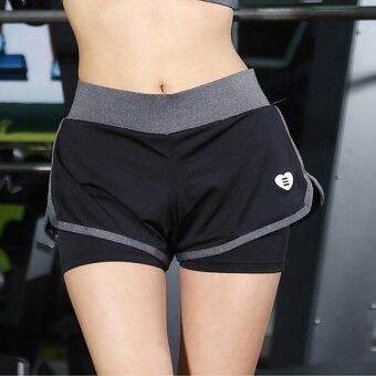 Harga Hot new women sports shorts summer yoga shorts running shorts lady clothes training quick dry shorts