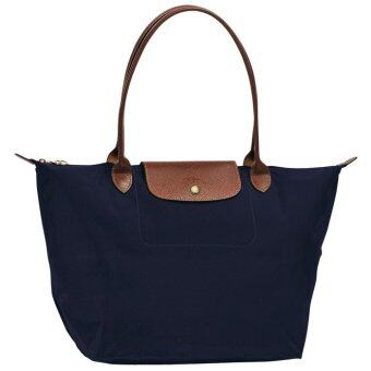 Harga Longchamp Le Pliage Large Tote (Navy)
