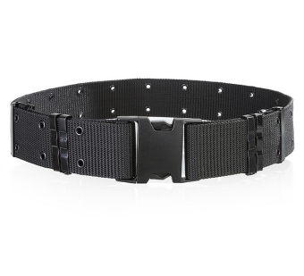 Harga NEW Sports Belts Man's belt High strength nylon Belt Landisun Outdoor Adjustable Rescue Tactical Military Nylon Combat Duty Web Belt Color:Black HZ388