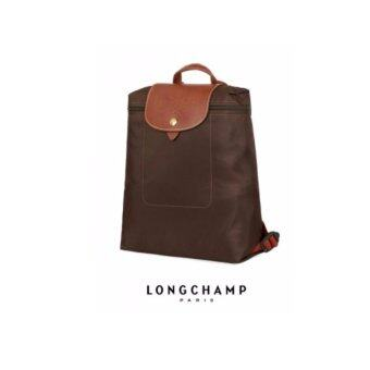 Harga AUTHENTIC LONGCHAMP LE PLIAGE BACKPACK 1699089 (CHOCOLATE)