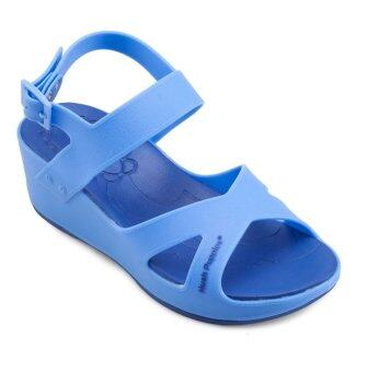 Harga Hush Puppies BLOOMING-II Sandals (Blue)