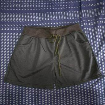 Harga Casual Sport Shorts (Black)