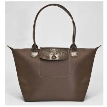 Harga Longchamp Planetes Long Handle Medium LC015A (Brown)