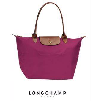 Harga AUTHENTIC LONGCHAMP LE PLIAGE TOTE 1899089 LARGE/LONG HANDLE (FUCHSIA)