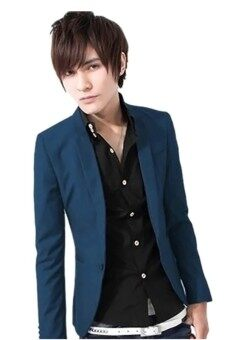Harga Gracefulvara Suit Jacket (Royal blue)