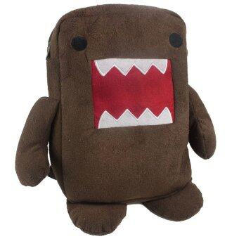 Harga V SHOW Cute Domo Kun Brown Plush Backpack,Brown