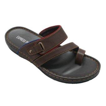 Harga EXPRESS POLO Classic Outdoor Sandals EP1633 (Brown)