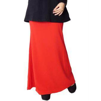 Harga Aqeela Muslimah Wear Mermaid Skirt Red