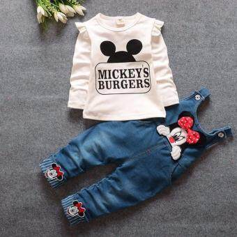 Harga Mickey Mouse Kids Tops With Jeans